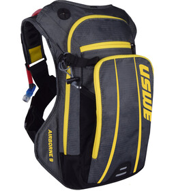USWE Airborne 9 Hydration Backpack, grey/yellow